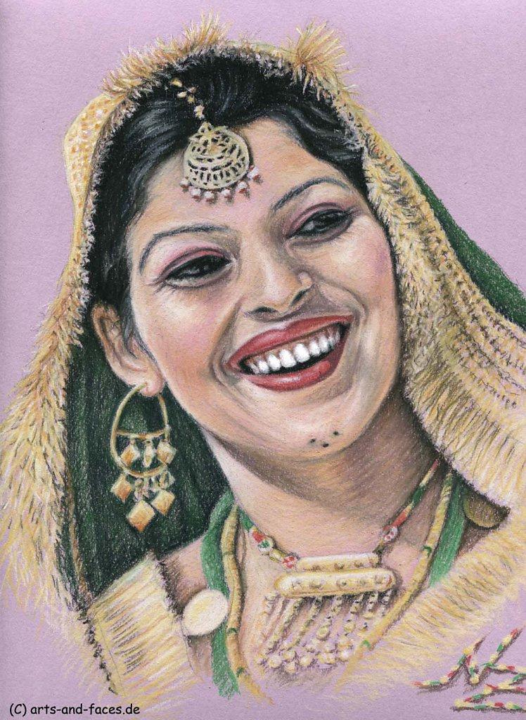 Indische Braut - Indian Bride