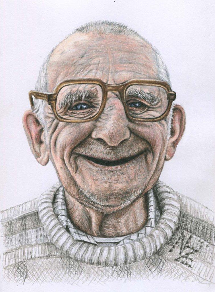 Der glückliche Alte - Happy Old Man