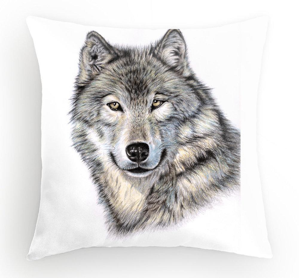 Wolf Kissen - Pillow
