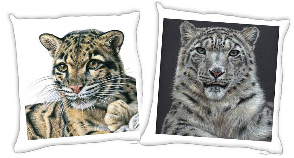 Clouded Leopard or Snow Leopard - Nebelparder oder Schneeleopard