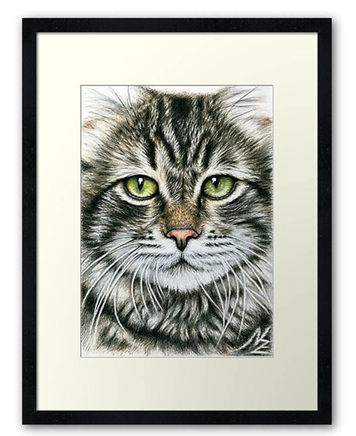 Katzen Kunstdrucke - Cats Fine-Art-Prints
