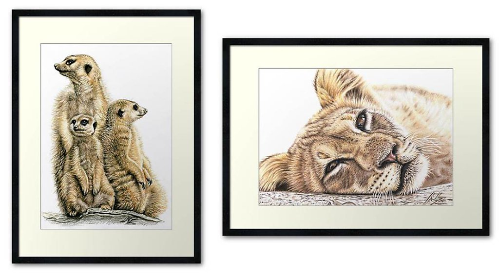 Wildlife Fine-Art-Print
